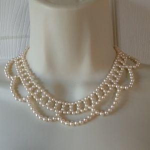 Gorgeous Vintage Pearl Triple Strand Necklace